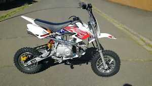Dirt Bike 125 ccm 10/10 Räder Cross Vollcross Pocketbike Pit Enduro automatik