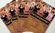 KATZENJAMMER SMALL TOUR FLYERS X 4