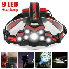 15000000LM T6 LED Headlamp Headlight Torch Rechargeable Flashlight Work Light UK