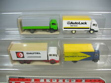 K896-0,5# 4x Wiking HO LKW Mercedes 431, 451 Dautel, AutoLack Dachser TOP+2xOVP