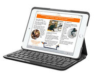 Logitech Canvas Keyboard Case for iPad mini 2, and 3 Black