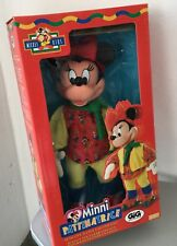 1997#Applause Mickey For Kids Plush Minnie Mouse Skater  Electronic Plush