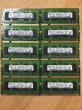 Lot 10X Samsung 512MB PC2-5300 DDR2 667MHz SODIMM Laptop Memory RAM TESTED