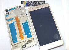 Display pantalla Táctil Frame cover Huawei ascender Y6 2 II Cam-l21 oro Gold