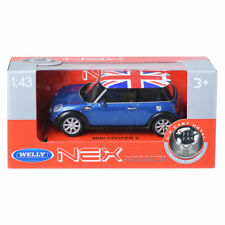 Welly NEX 1:43 MINI COOPER S British flag Mini Car Display Miniature Car
