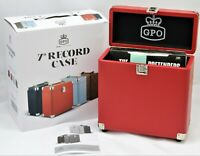 """GPO Record Case for Vinyl 7"""" Singles - Red"""