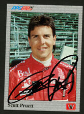 Scott Pruett #51 signed autograph auto 1991 PPG Indy Car Trading Card