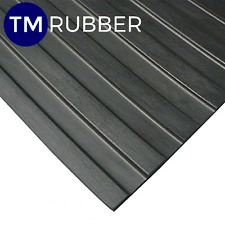 Rubber Big Wide Rib Mat Matting Flooring W1800mm X D5mm Quarantine stock CHEAP!