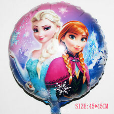 HUGE 2-Sided Frozen Elsa Anna Mylar Jumbo Balloon Birthday Party Supplies 18""