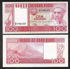 New listing Cape Verde - 100 Escudos Note - 1977 - P54a - Uncirculated