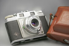 Agfa Super Silette With Agfa Solinar 3,5/45mm ,Original novel leather case