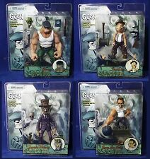 New THE GOON 5 Action Figure Set GOON Joey The Ball ZOMBIE Priest FRANKIE Mezco