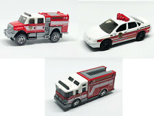 Matchbox Fire Emergency Vehicles (loose) - 3 vehicles / 1 price!