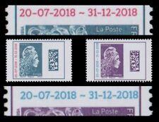 "France 2018 - ""Marianne l'Engagée"" DATAMATRIX Surcharge -  EUROPE + MONDE N**"