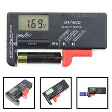 New Digital LCD Battery Tester Volt Checker For 9V 1.5V AA AAA Cell BT-168D