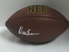 WILLIE BROWN SIGNED NFL FOOTBALL OAKLAND RAIDERS LOS ANGELES HOF