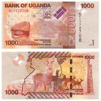 Uganda 1000 Shillings 2017 P-49e Banknotes UNC