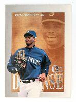 Ken Griffey Jr. #4 (1996 Fleer/Skybox) E-XL Defense, Seattle Mariners, HOF