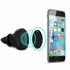 Adjustable Magnetic Phone Mount Air Vent Cradle Car Holder Universal Iphone