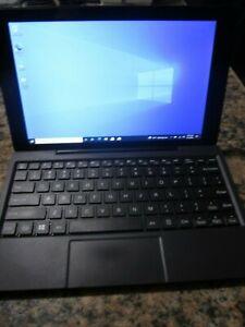 RCA W101 Convertible Tablet/Laptop Atom 1.33GHz 2GB 32GB SSD WIn 10 + 128GB SD