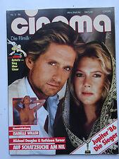 Cinema Nr 94, vom März 1986, Inhaltsverzeichnis siehe Foto, Isabelle Winter