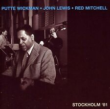 John Lewis, Red Mitchell - Stockholm 81 [New CD]