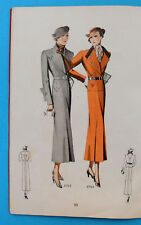 1934/35. ART DECO VINTAGE FASHION CATALOG - CZECH REPUBLIC & YUGOSLAVIA KINGDOM