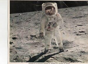 Neil Armstrong - Apollo 11 Photograph Signed -  On the Moon - Steve Zarelli COA