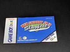 Ken Griffey Junior Jr.'s Slugfest Manual Nintendo Game Boy Color EXMT