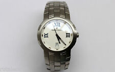 MAURICE LACROIX 69862 MILESTONE stainless steel men's quartz watch New Old Stock