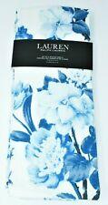 Kitchen Towels set of 2 dish hand Ralph Lauren ~ Beautiful Blue Roses Floral