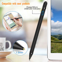 Rechargeable Capacitive Touch Screen Pen Stylus for iPhone iPad iPod Samsung PC