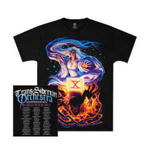 Trans Siberian Orchestra TSO Fate and Mephistopheles Tour Mens T-Shirt Authentic
