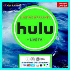 Hulu Premium + Live Tv 💻 Lifetime Warranty 😲 Super Fast Delivery 😲