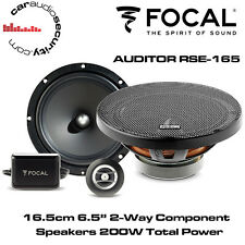 "FOCAL RSE165 - AUDITOR 16.5cm 6.5"" 2 Way Component Car Speakers 200W Total Power"