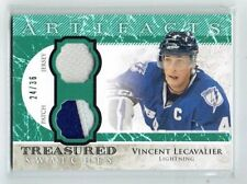 12-13 UD Artifacts Treasured Swatches  Vincent Lecavalier  /36  Patch--Jersey