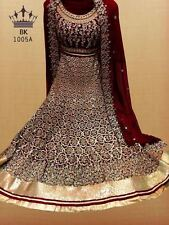 PAKISTANI BRIDAL LEHENGA CHOLI WEDDING PARTY WEAR INDIAN DESIGNER LEHENGA