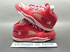 Girls Nike Air Jordan V 5 Valentine's Day Retro TD 2013 sz 10C
