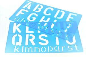 50mm Large Stencils Set Letters Numbers Alphabets Symbols