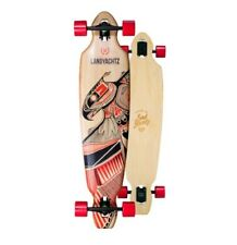 Landyachtz Bamboo Battle Axe 40″ Drop Through Longboard Complete
