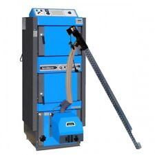 ATMOS Kombikessel Holz / Pellets DC30GSP Set mit Brenner A25GSP und 240 Liter Pe