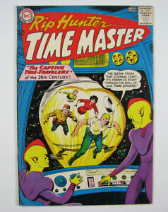 Rip Hunter Time Master Silver Age Comic Book #14  1963 DC Nice!