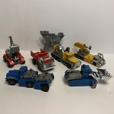 Vintage 80s Lot Four Star DEVASTATOR COMBINER Transformers Knock-Off Robots KO