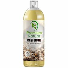 Castor Oil Pure Carrier Oil Cold Pressed for Body Oils Hair Growth Moisturizer