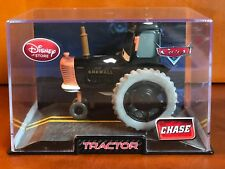 Disney Store Pixar Cars 2 Black Tractor Chase Die Cast Acrylic Plastic Display