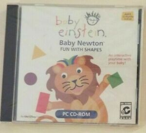 Baby Einstein: Baby Newton: Fun with Shapes CD-ROM (BRAND NEW)