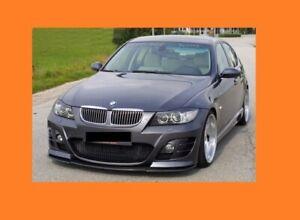 BMW E90 3 Series M3 Tuning Overlays Headlight Corner Amber EYELID MStyle Spoiler