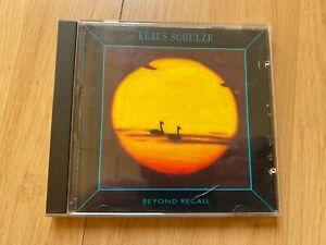 Klaus Schulze 'Beyond Recall' CD