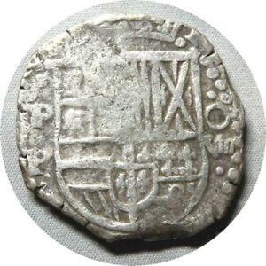 elf Bolivia Spanish 8 Reales (1620-31) PO