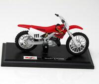 Modell Motorrad 1:18 Honda CR250R #111 Maisto